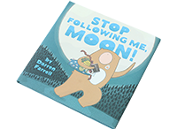 洋書 STOP Following Me moon