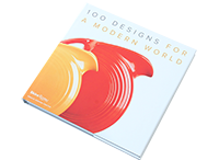 洋書 100 designs for a modern world